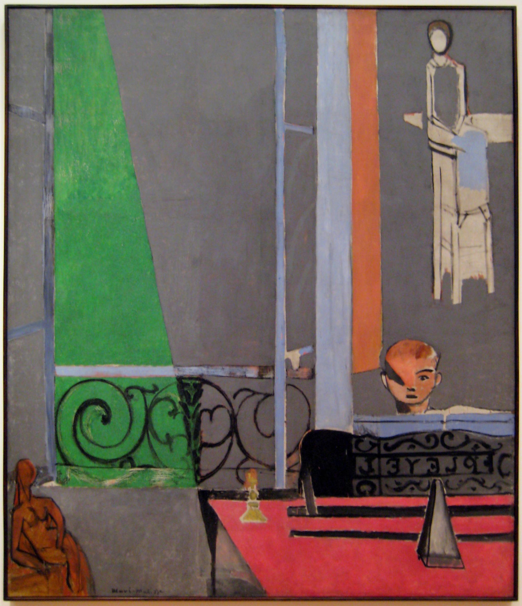 Henri Matisse: The Piano Lesson (1916)
