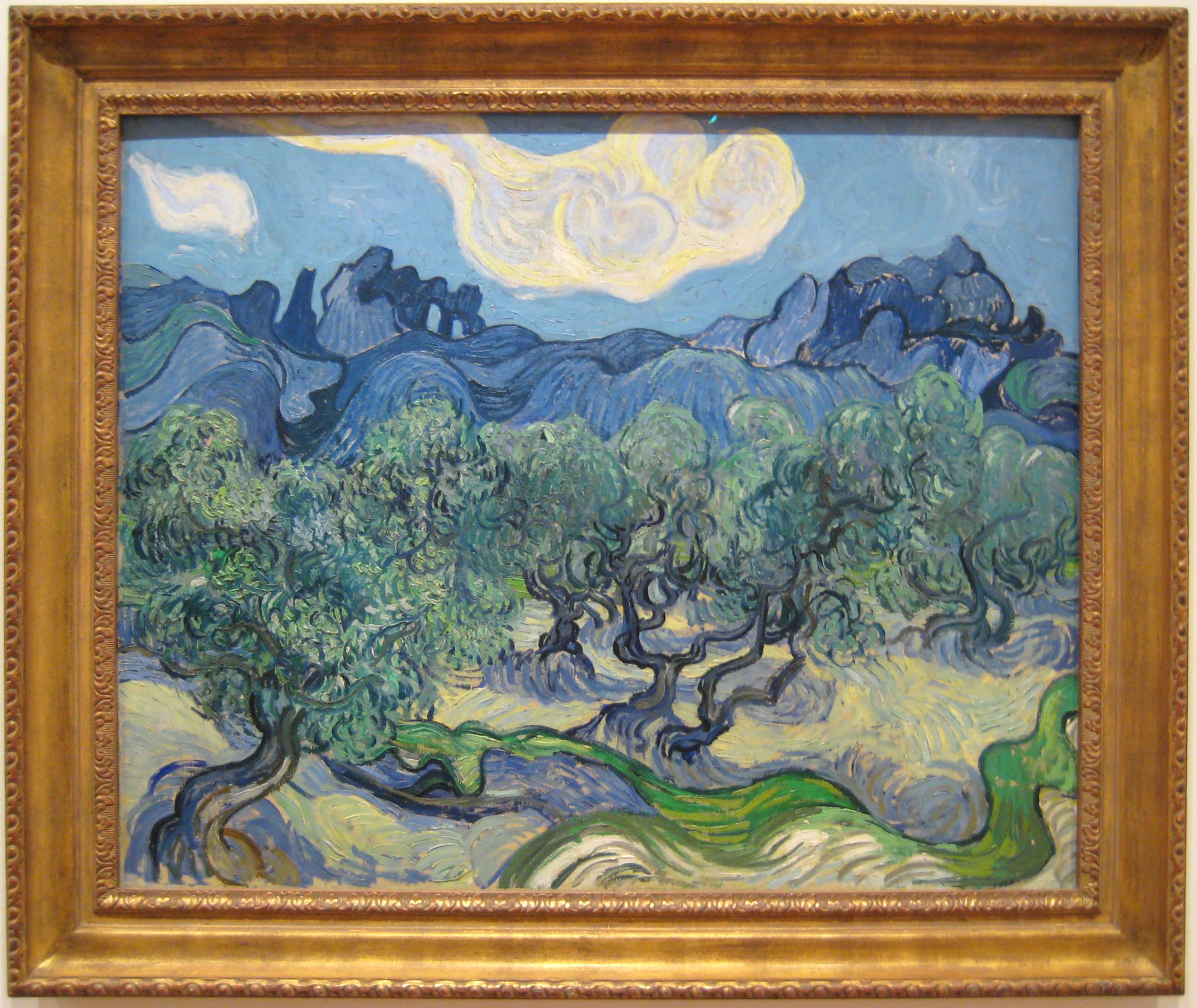 Vincent Van Gogh: The Olive Trees (1889)