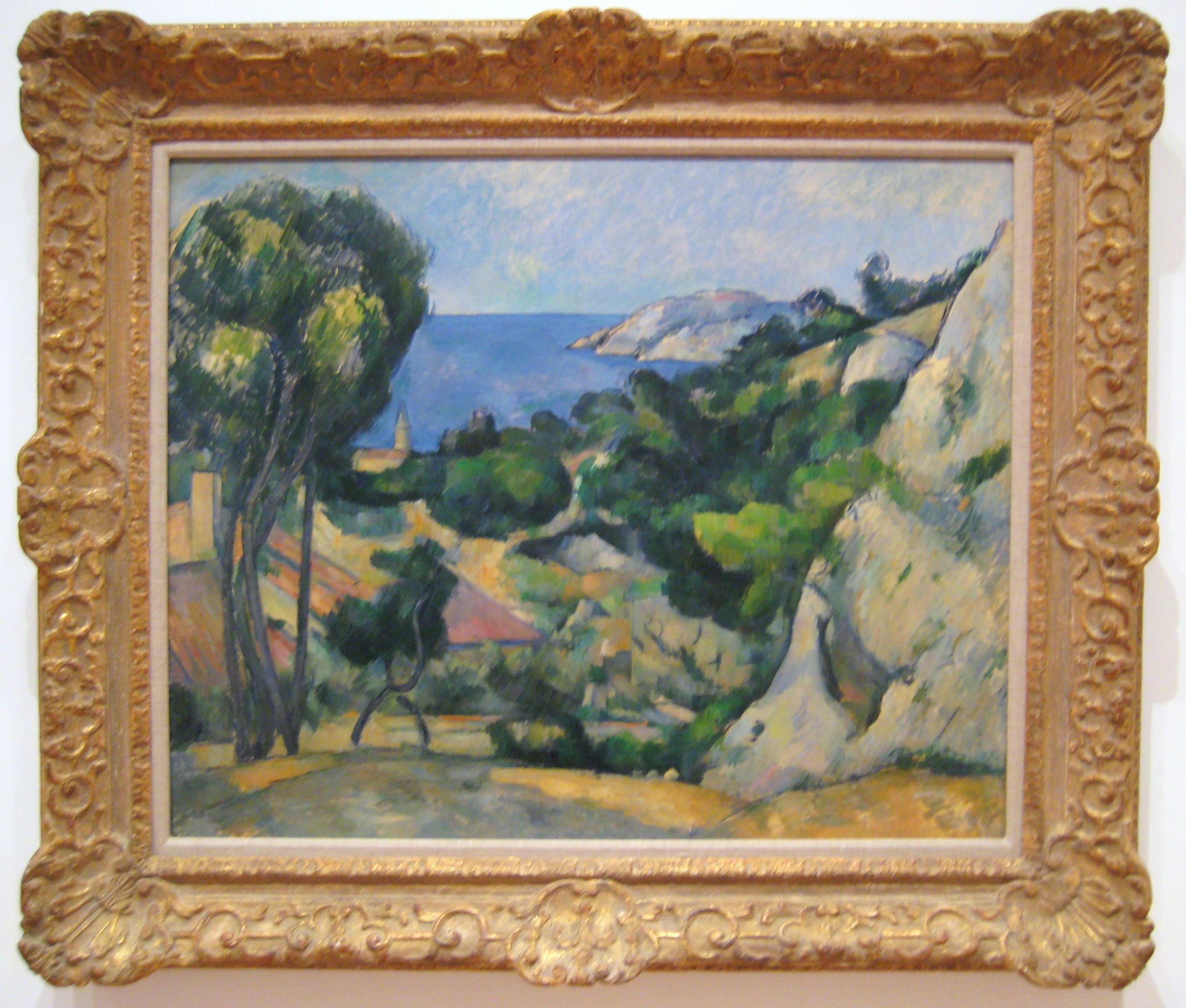 Paul Cézanne: L'Estaque (1879-83)