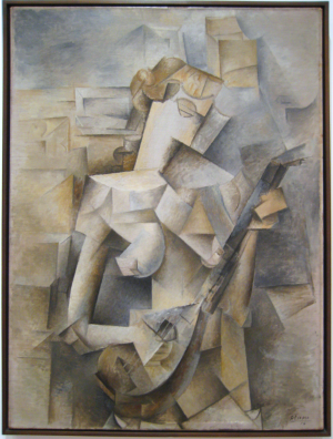 Pablo Picasso: Girl with a Mandolin (Fanny Tellier)