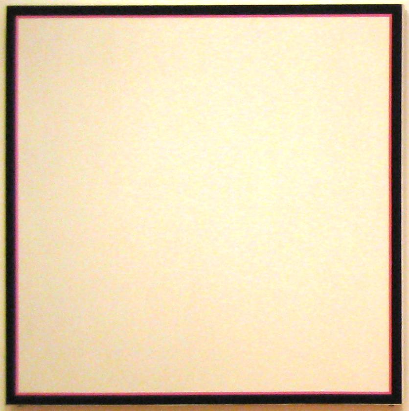 Jo Baer: Primary Light Group: Red, Green, Blue (1969)