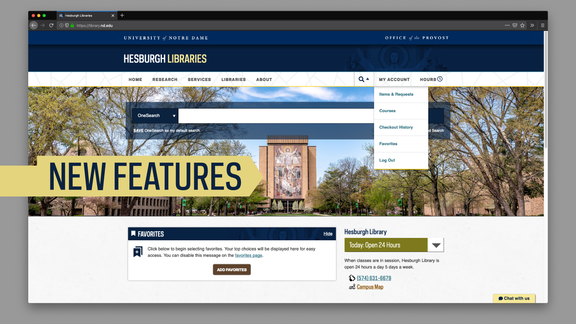 Hesburgh Libraries