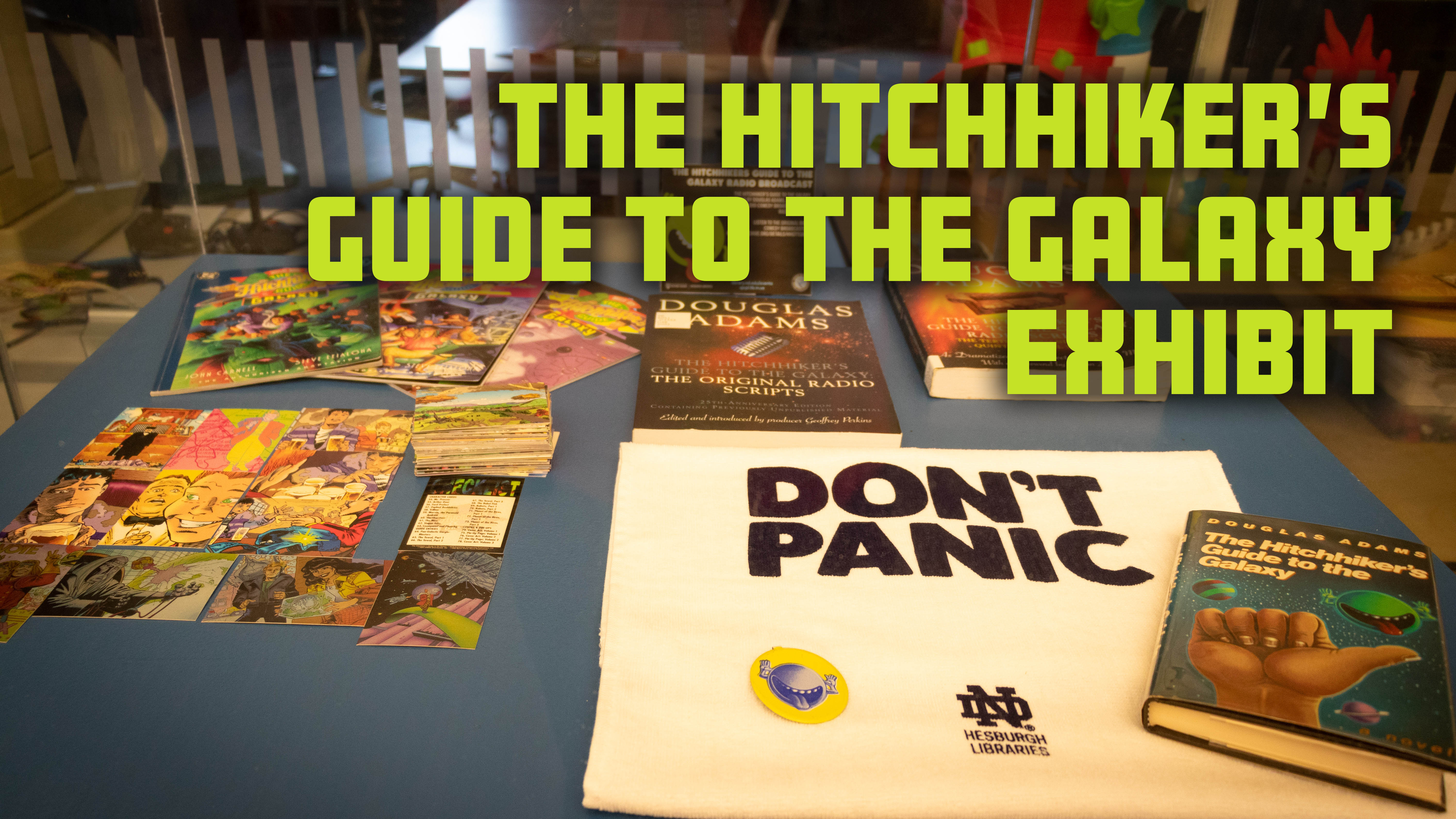 HITCHHIKER/'S GUIDE TO THE GALAXY Complete COMIC ART Card Set DOUGLAS ADAMS