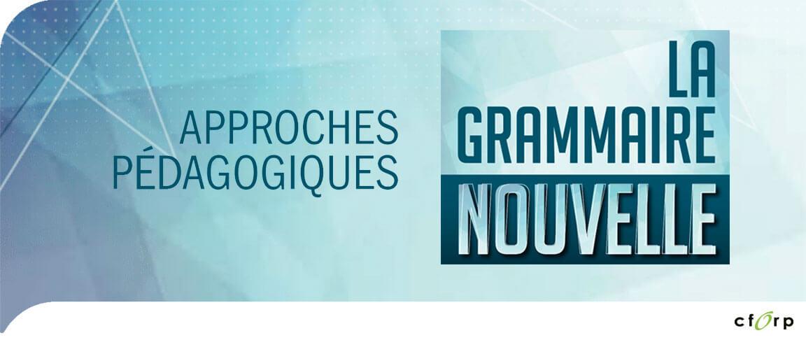 La grammaire nouvelle : approches pédagogiques