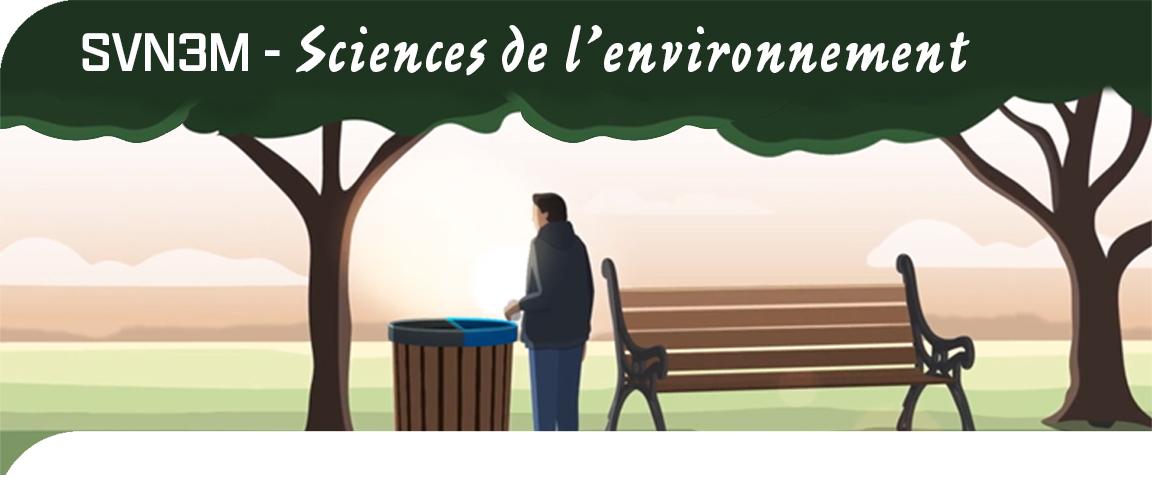 SVN3M - Sciences de l'environnement
