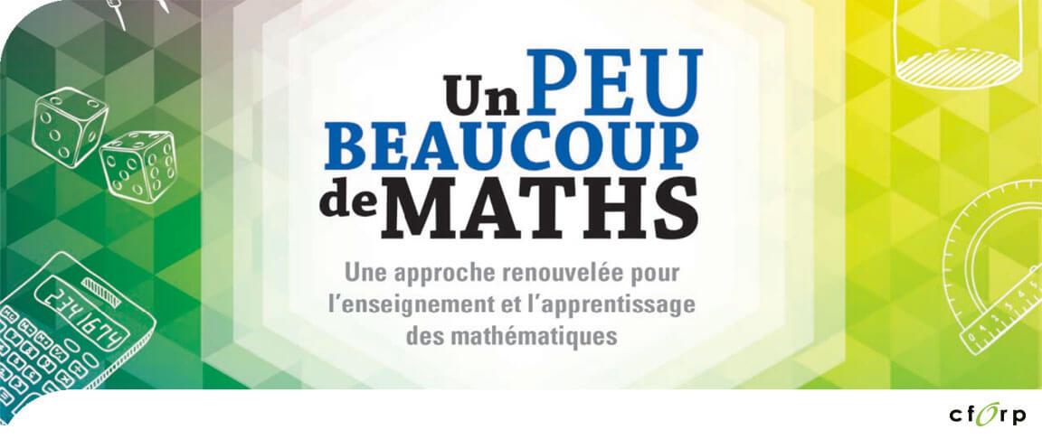 Un peu beaucoup de maths – 7<sup>e</sup> année