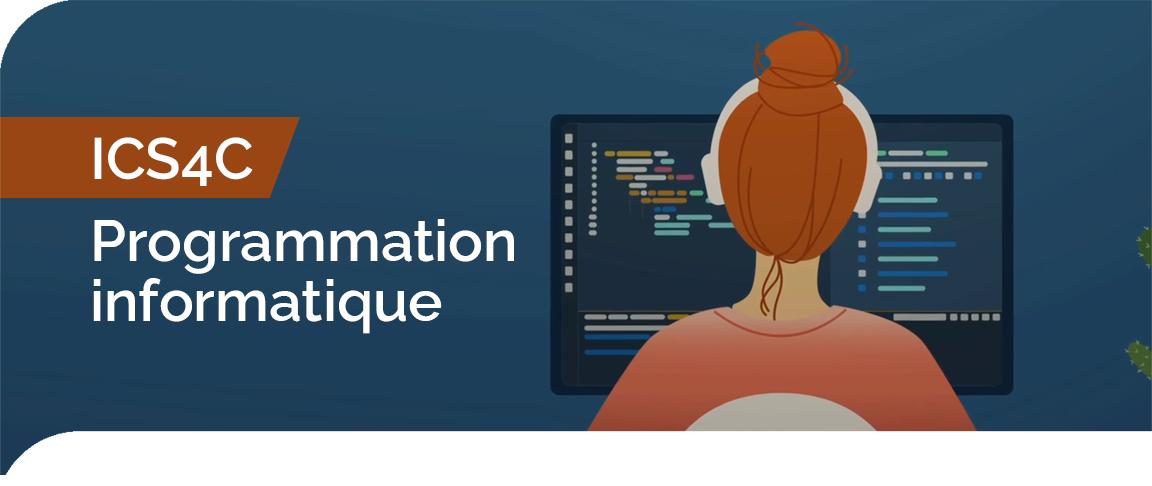 ICS4C - Programmation informatique