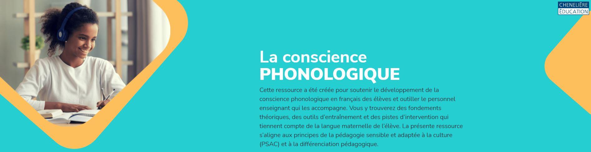 La conscience phonologique - Ressource pour les élèves