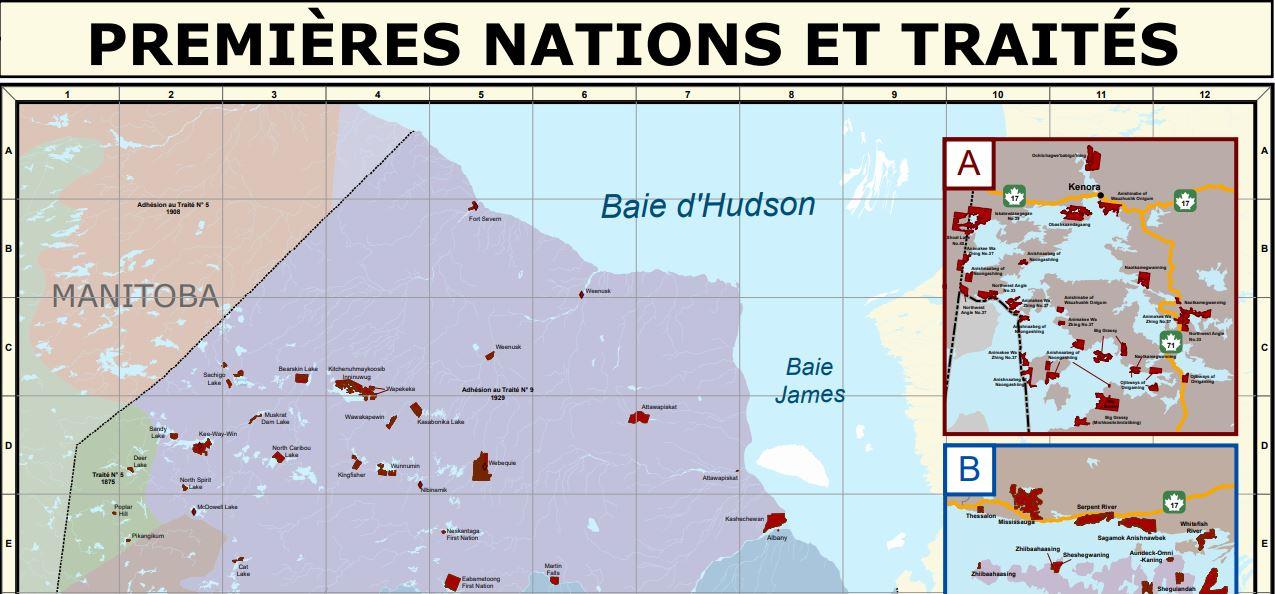 Ressources sur la carte des Premières Nations et des traités de l'Ontario - Guide à l'intention du personnel enseignant