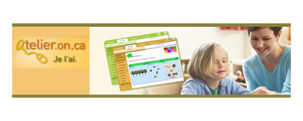 Retrouver les ressources du site Web Atelier.on.ca!