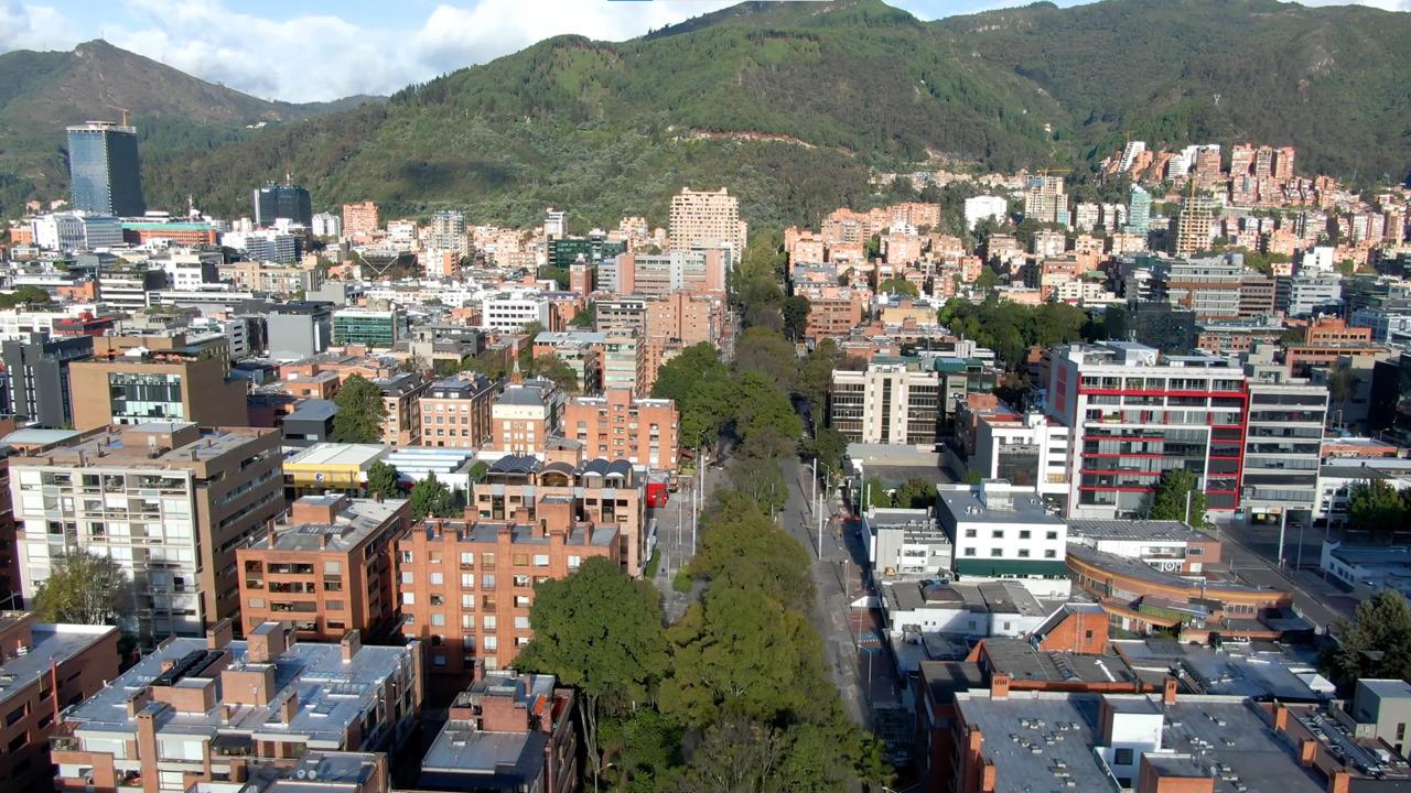 Barrio El Chicó en el norte de Bogotá  - La Haus