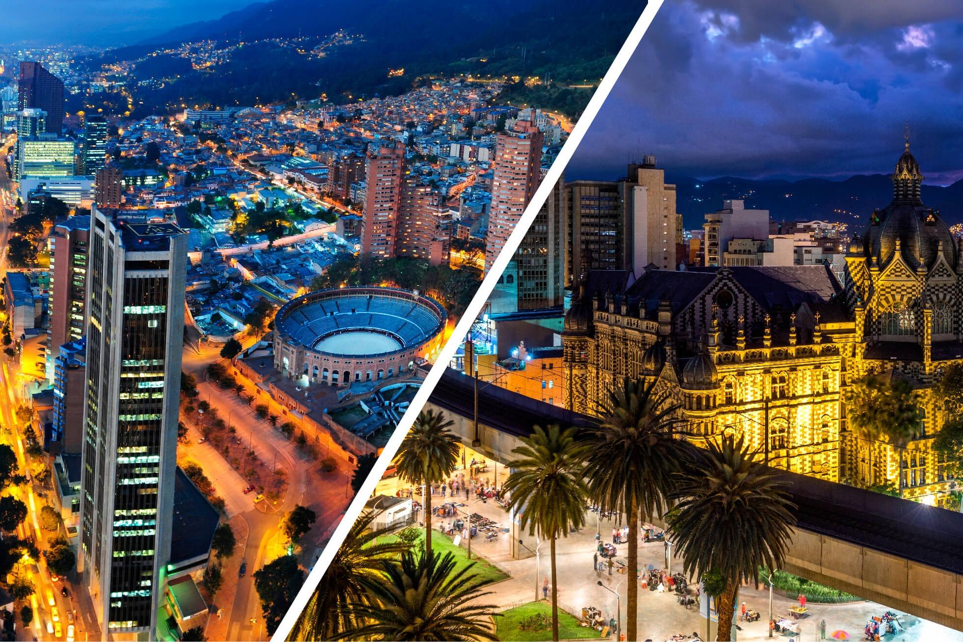 Bogotá y Medellín dos ciudades para invertir