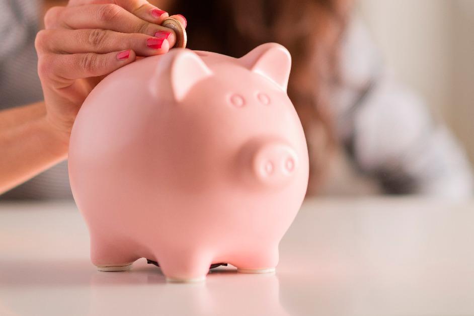 Alcancía para ahorrar para una casa