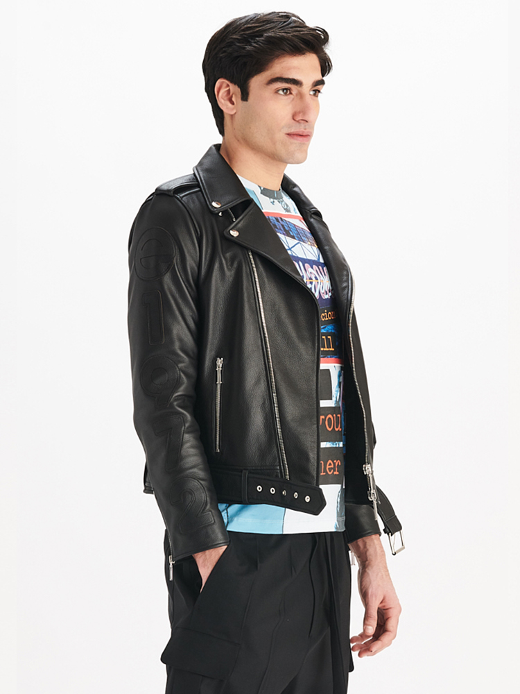 LOOK04 P1 MENS MOTO JACKET BLACK 02