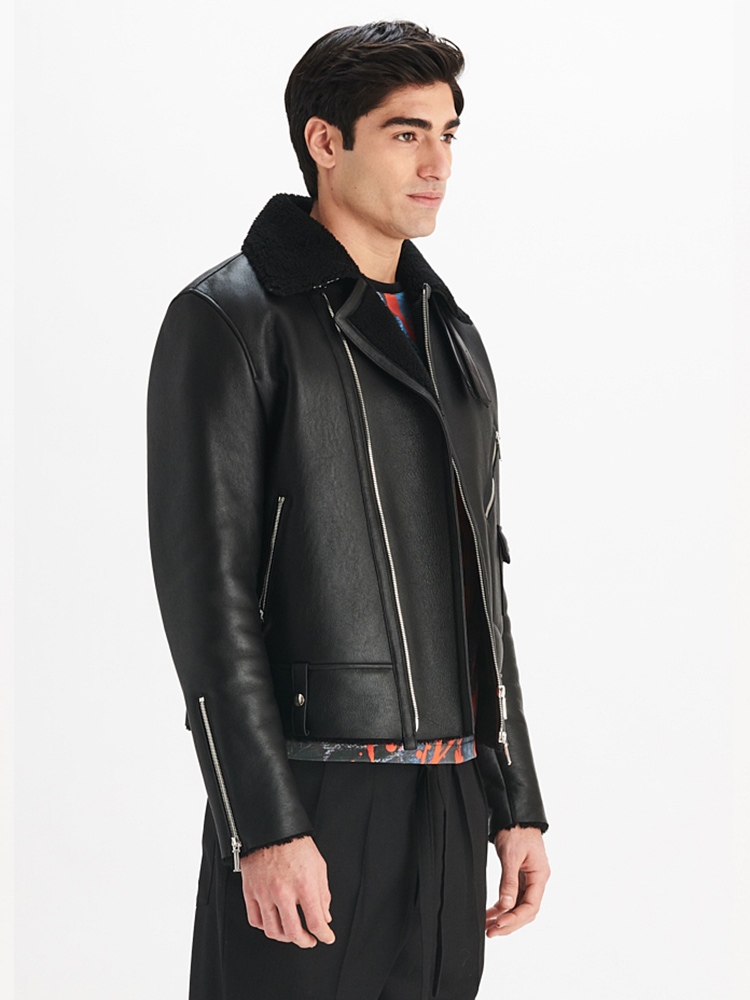 LOOK02 P1 MENS AVIATOR SHEARLING JACKET 01