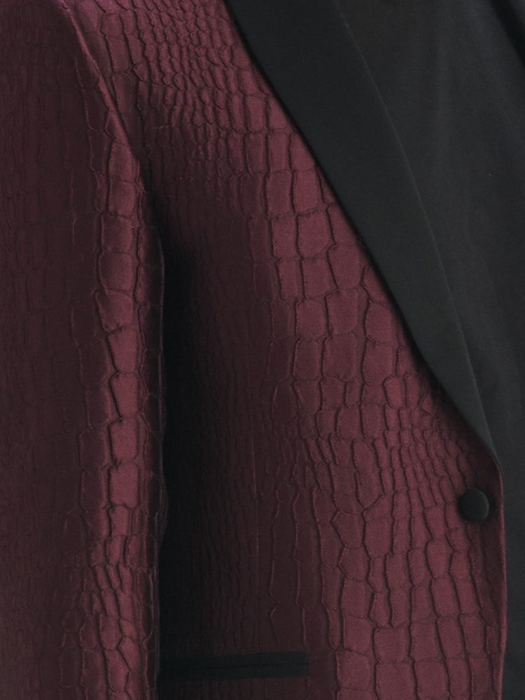 LOOK06 MENS JACQUARD SUIT JACKET AUBERGINE 04