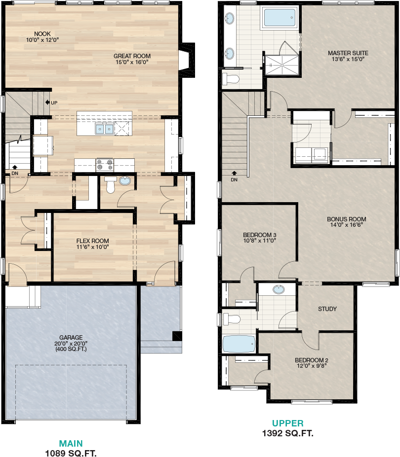 Rosewood Trico Homes New Home Builder In Calgary Alberta New Houses Townhomes And Condos