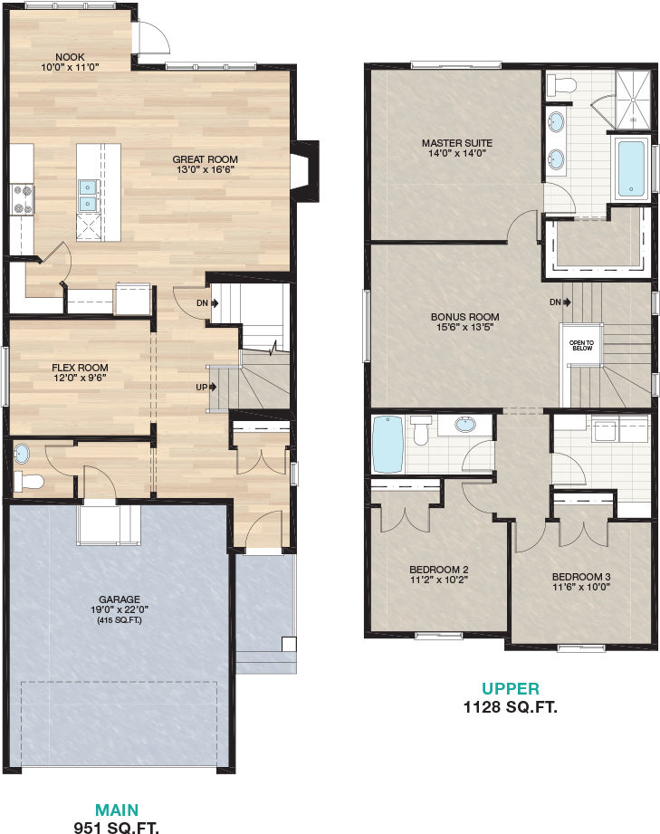 Braxton Trico Homes New Home Builder In Calgary Alberta New Houses Townhomes And Condos