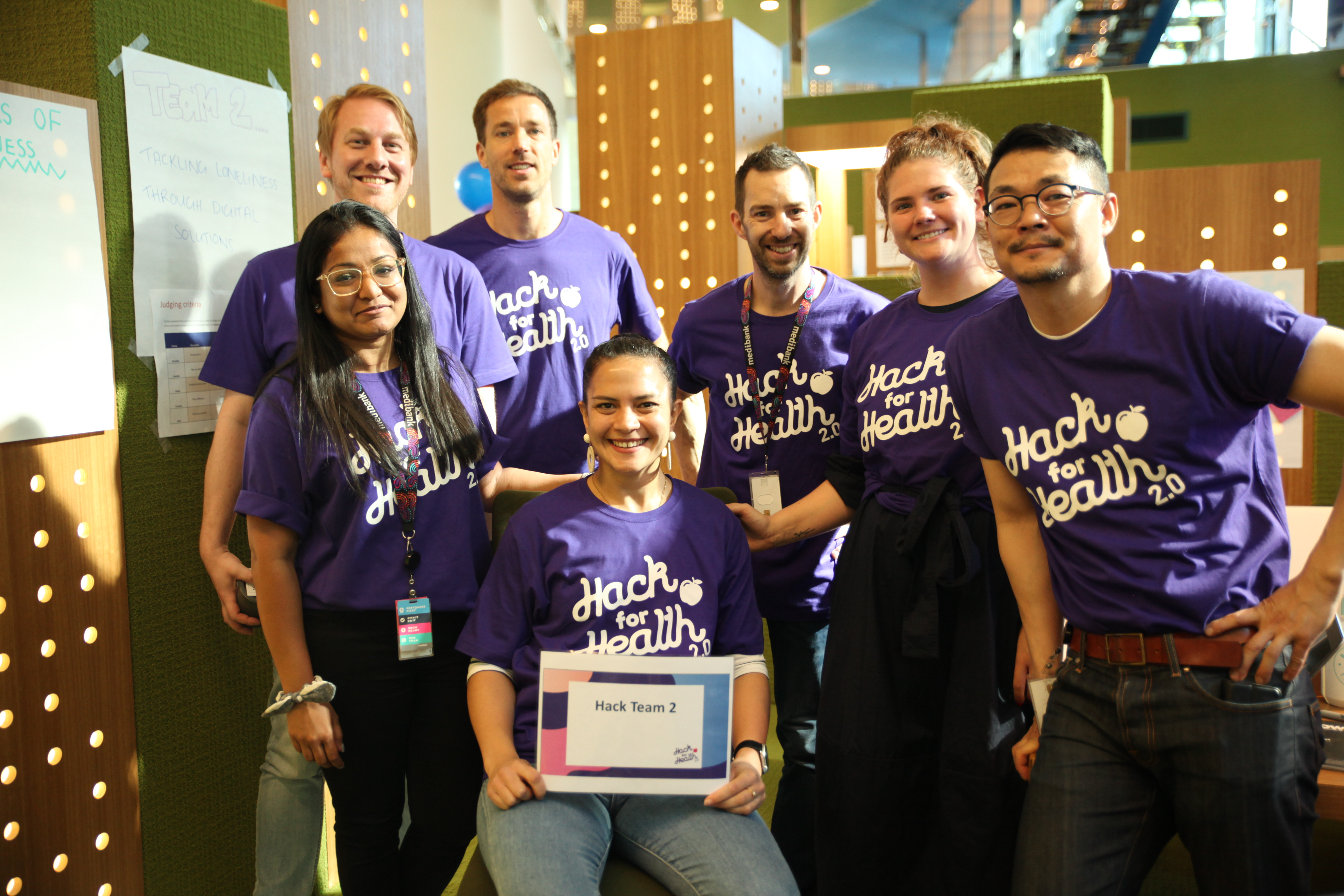 Hack for Health 19 Community2.0 team