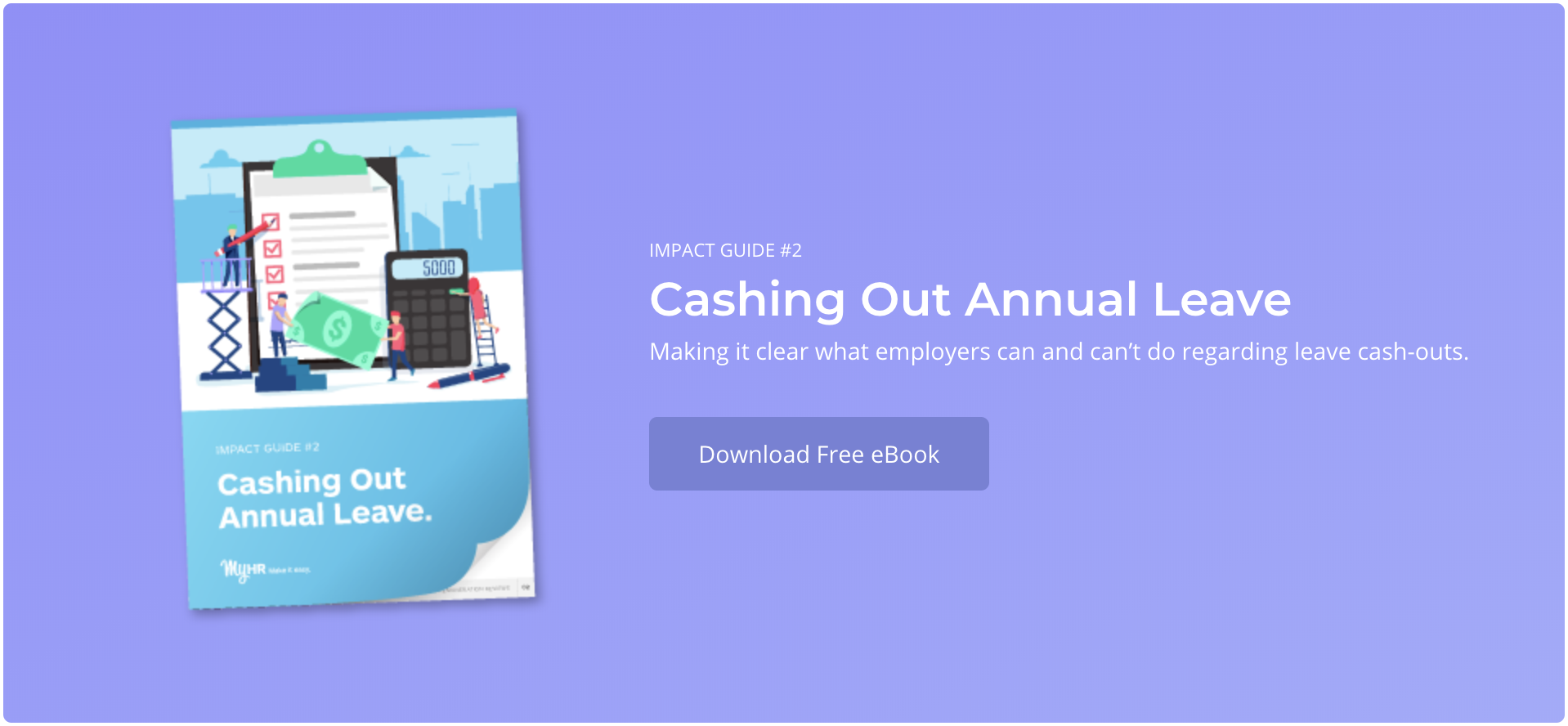 Cashing Out Annual Leave | FlexiTime Blog Image