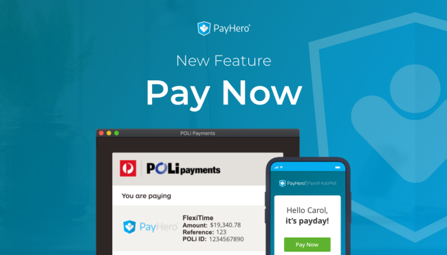 Pay Now | New Feature | News - Product Update
