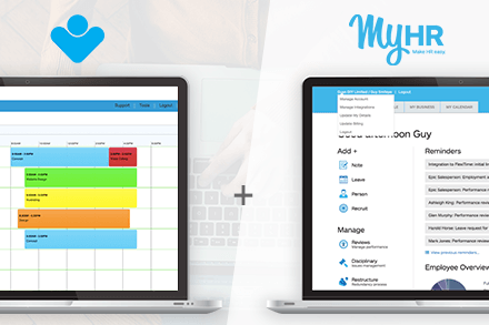 Integrated HR & Payroll Software: MyHR + FlexiTime | News