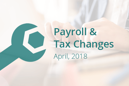 April 2018 NZ Payroll & Tax Changes | News