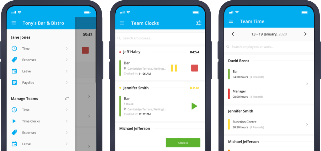 Team Manager | Manage Employee Timesheets, Leave & Expenses | PayHero