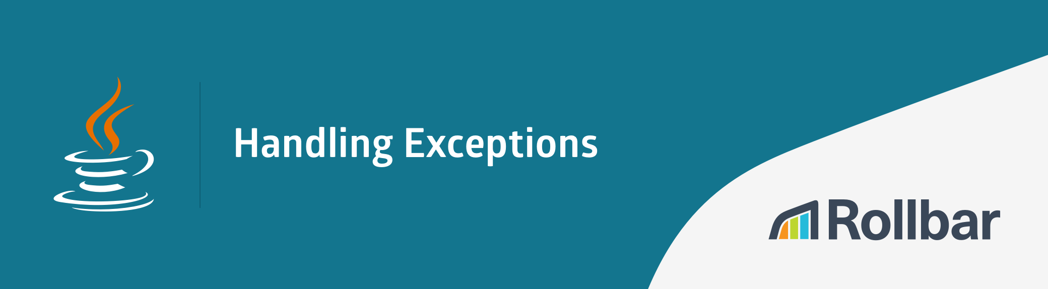 Java handling exceptions