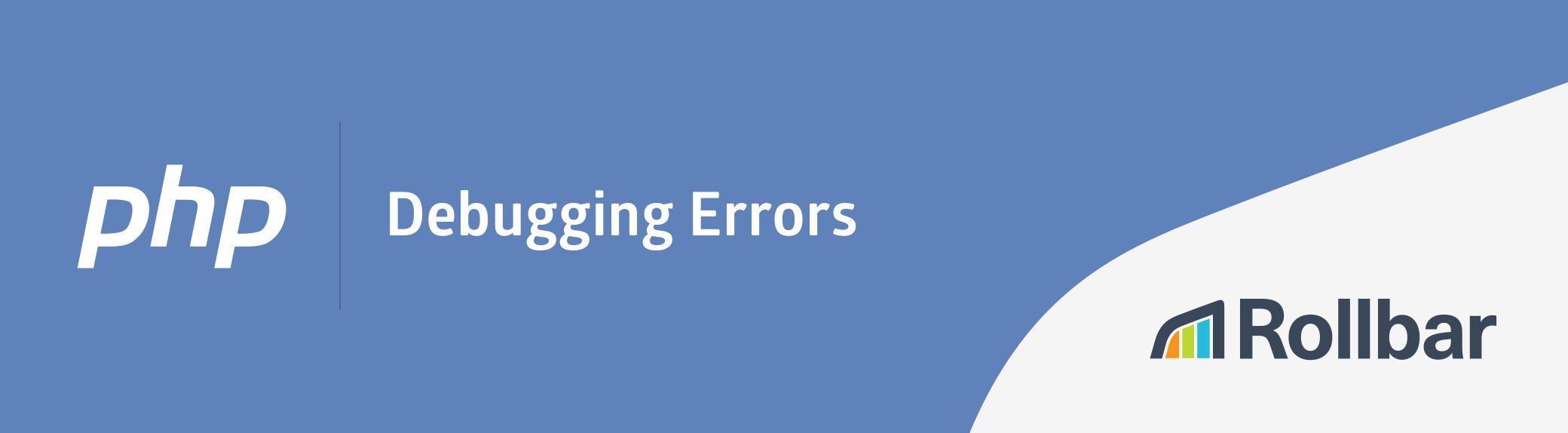PHP debugging errors