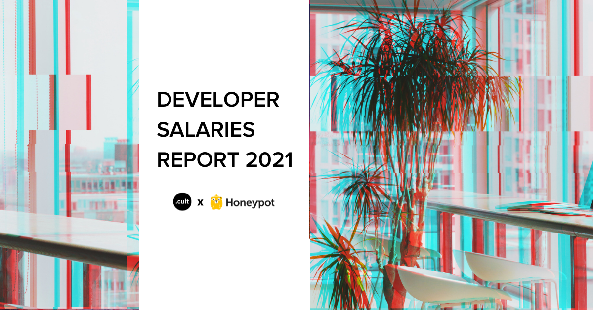 Developer salaries 2021 report