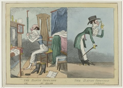 Shirt Points, Cravats, and Stocks: Men's Fashion of the Regency Era    PieceWork