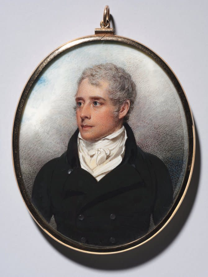 Portrait of Sandford Peacocke, 1801.