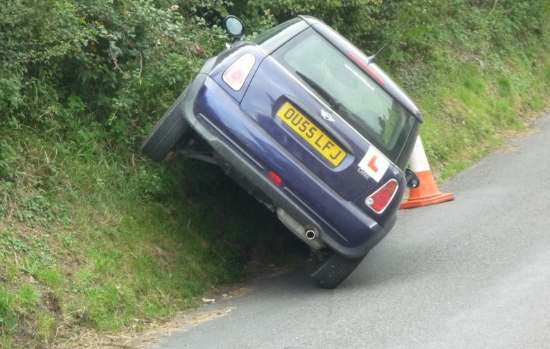 10 signs not ready for your driving test