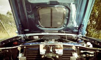 what's under the car bonnet
