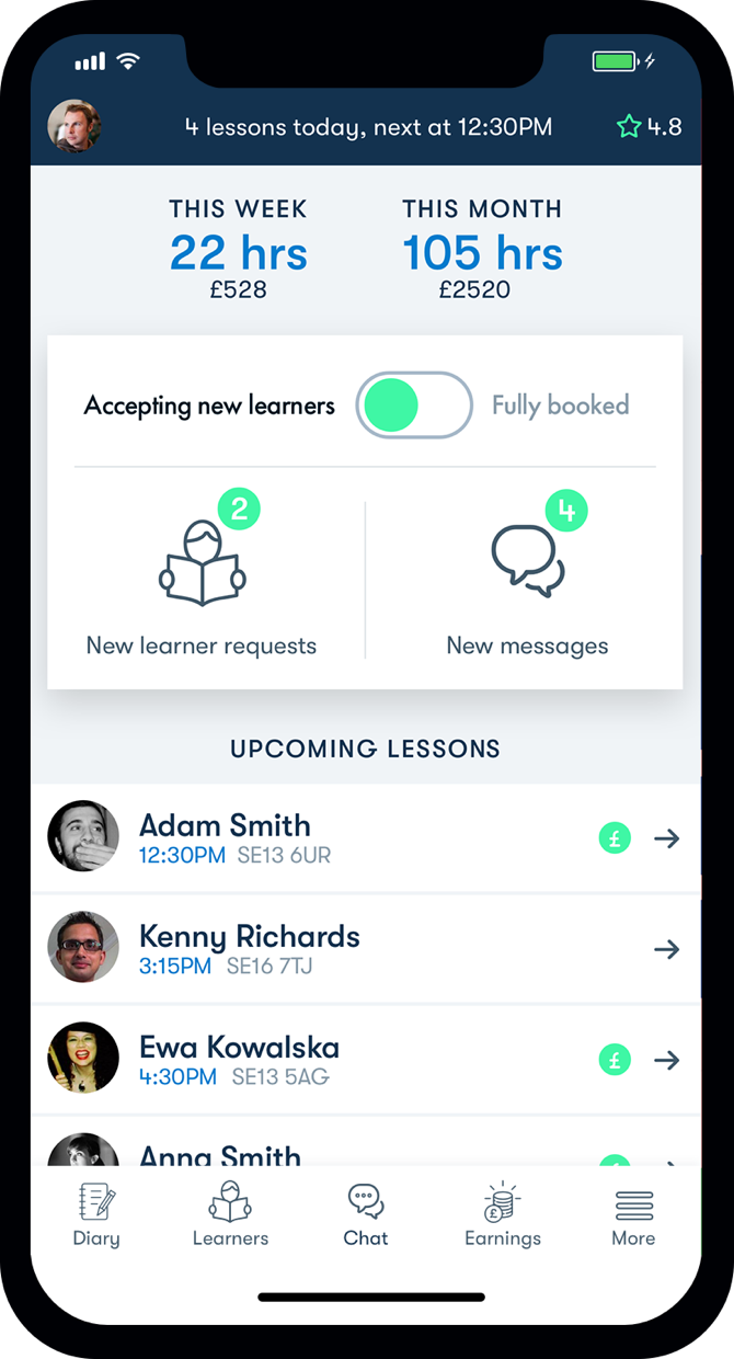 Instructor App | Reduce your Admin | Midrive