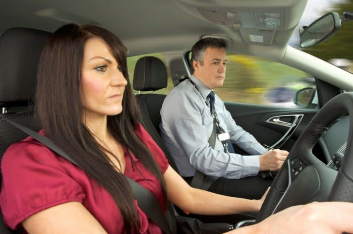 What is a mock driving test