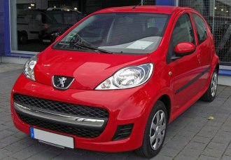 affordable cars for young drivers peugeot