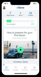 App screen: weekly tips