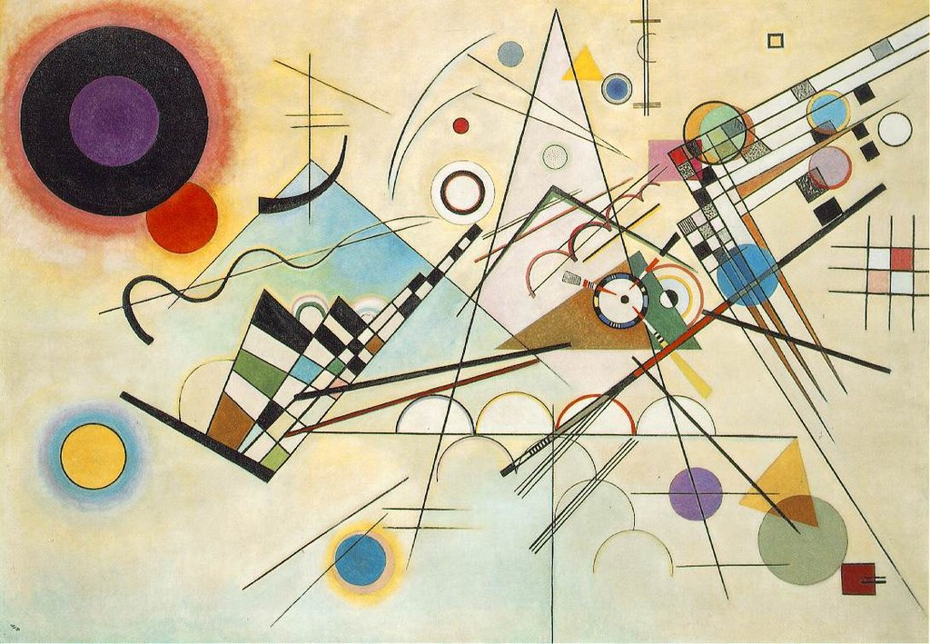 Kandinsky Composition 8 1923