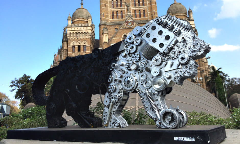Make In India: Make in India Week, Mumbai 2016