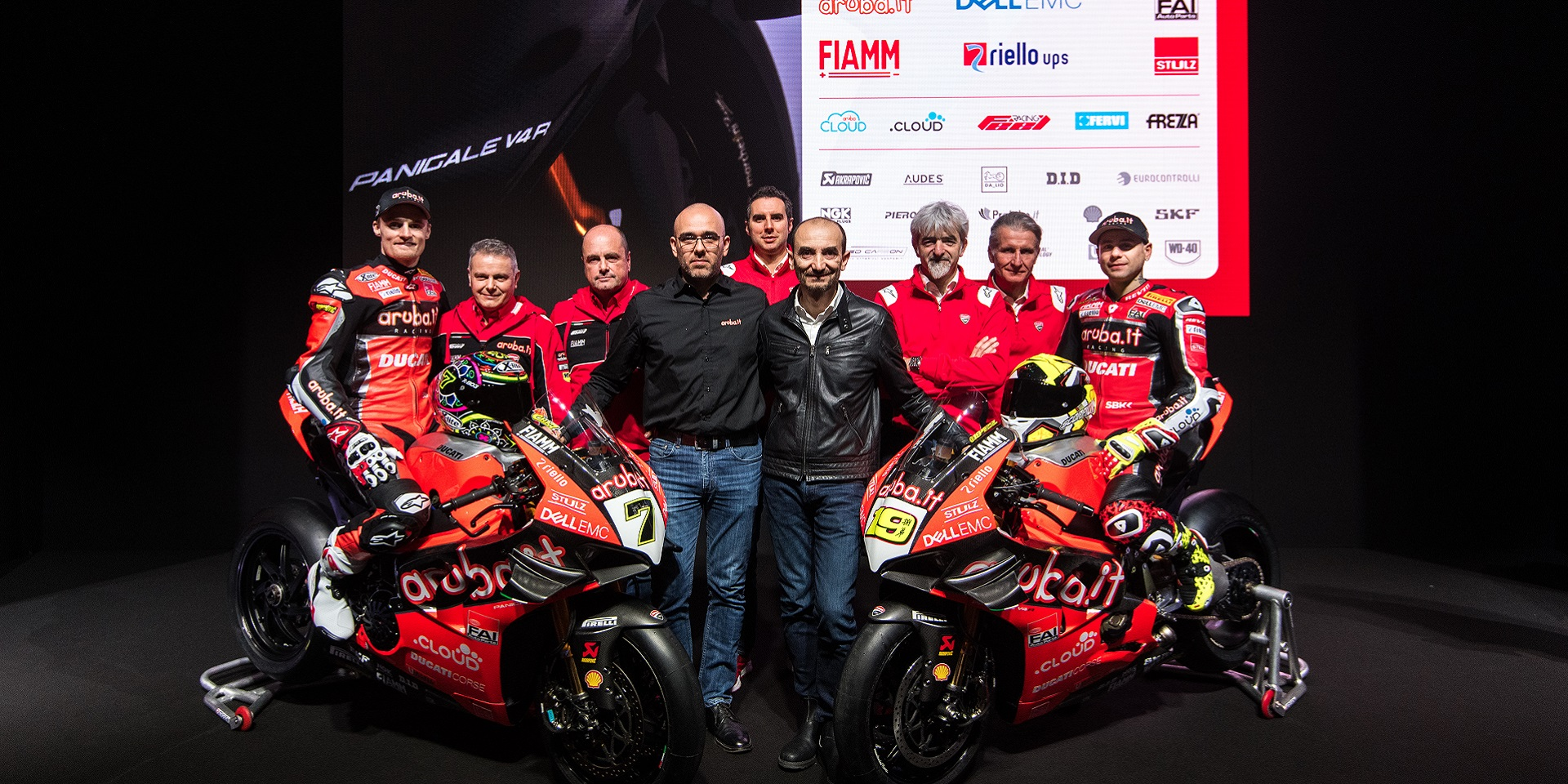 Ducati Team For 2019 Superbike World Championship Presented At