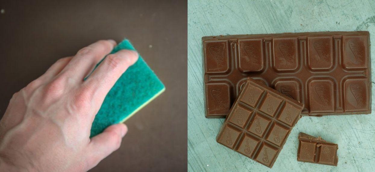 Czyszczenie czekolady