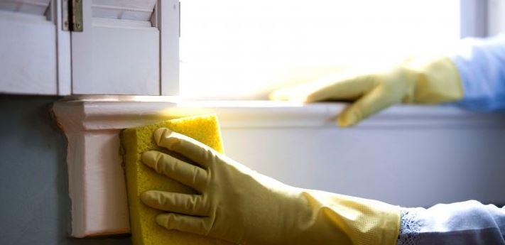 Mycie ram okiennych