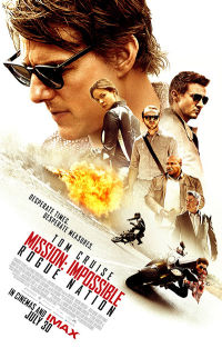 Mission Impossible - Rouge Nation Recent Credits Poster