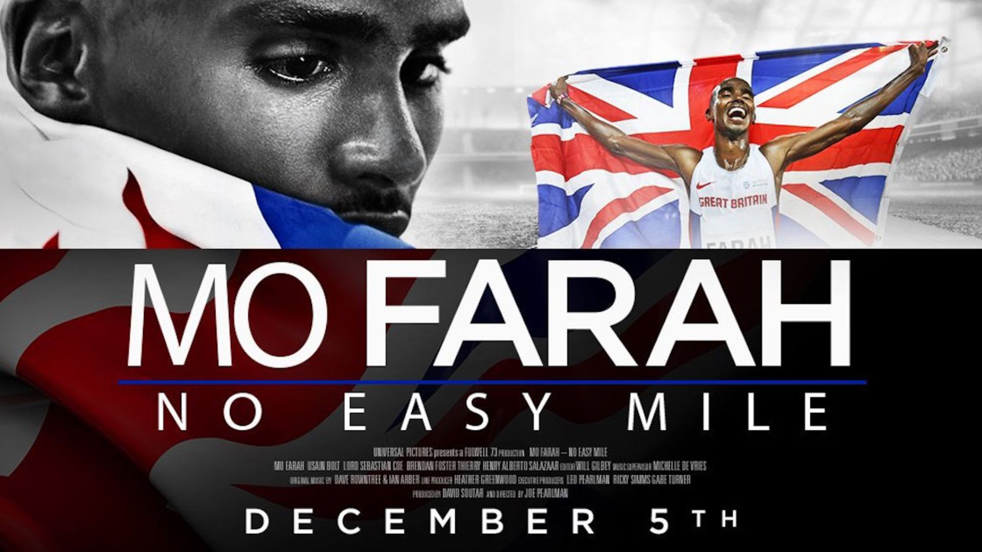Ian co-scored Mo Farah's movie