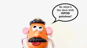 Mr. Potato Head Speech Bubble