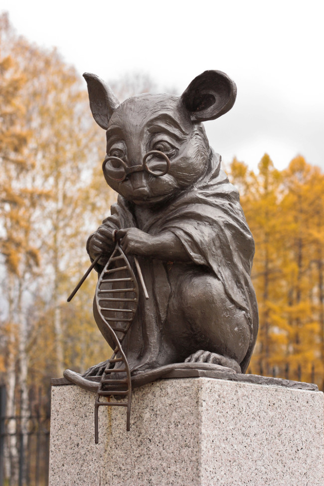 Lab Mouse Monument - shutterstock