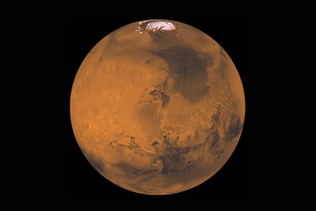 Mars NASA/JPL-Caltech/TAMU