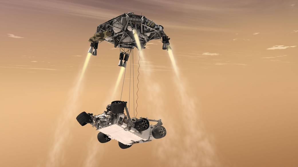 Mars Skycrane: How NASA's Perseverance Rover Will Land on the Red Planet